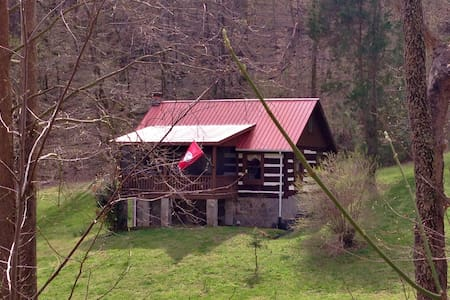 Cozy Log Cabin on 11 acres - Lynnville - Cabane