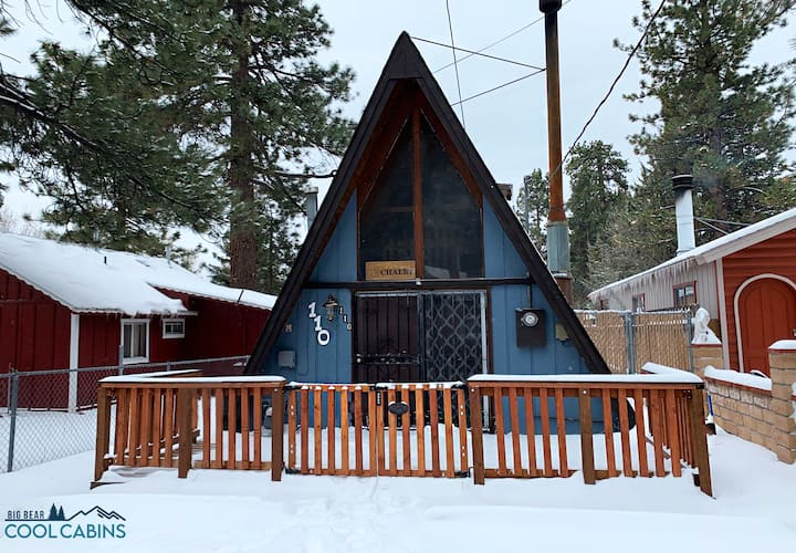 A-Frame Chalet - FREE Ski/Snowboard Rental!