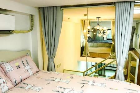 白云国际机场旁,空港碧桂园小区,全新现代loft公寓,免费停车 - 广州 - 公寓