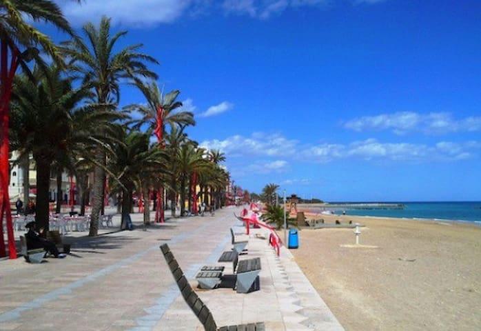 Apartment on 20 m to central beach of Vinaros - Vinaròs - Apartment
