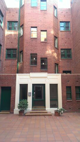 Private boutique low rise, quiet residential tower with heritage charm.