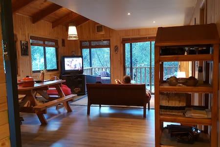 Charming two story cabin for seven Cajon del Maipo - Kisház
