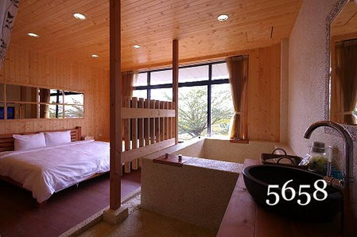 戀戀湯池雙人套房 Double Room - Meinong District - Bed & Breakfast