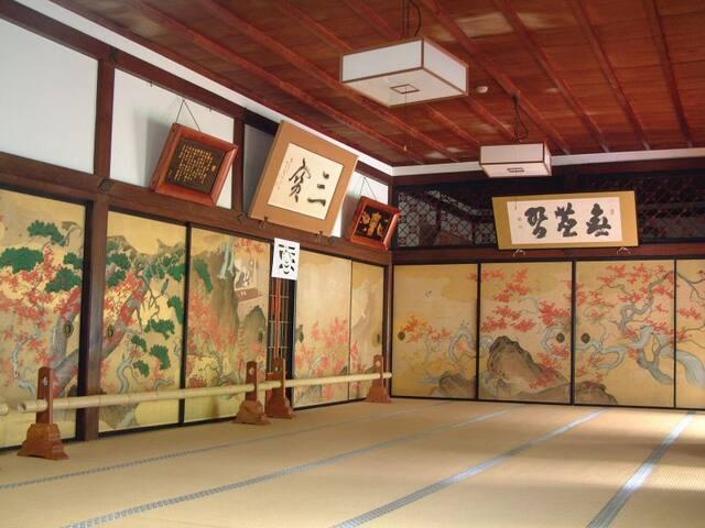 世界遺産高野山の宿坊三宝院 高野槇風呂付の貴賓室 - Ito District Koyacho Koyasan - Other