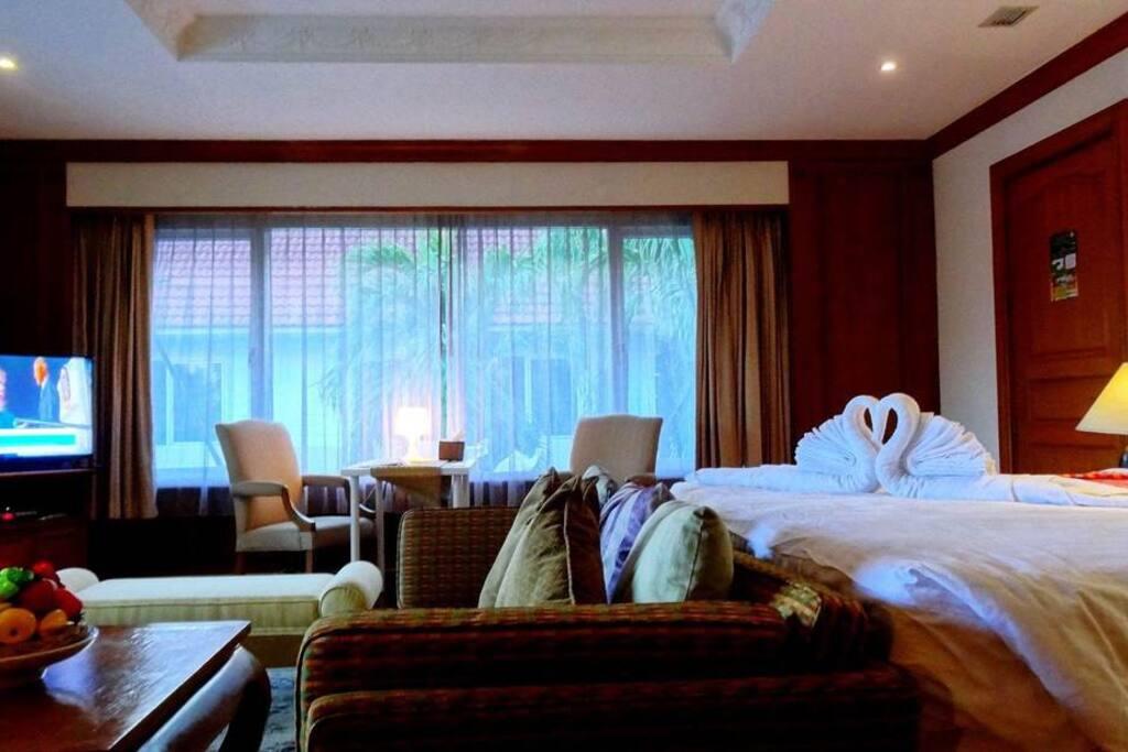 Bedroom with Workspace