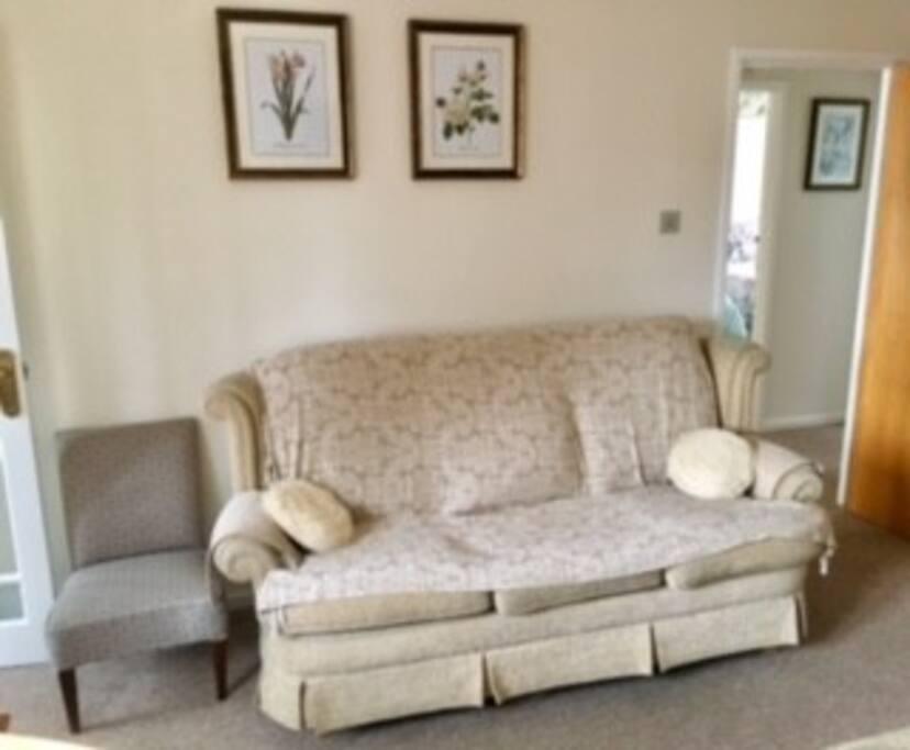 Living room. New sofa.