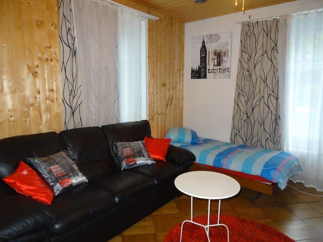 A3C2 Belle chambre, centre ville  - Lausanne - Apartemen