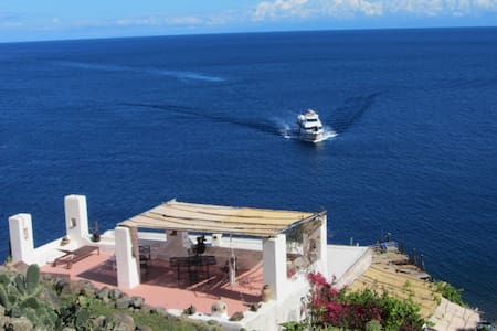 Charming place 35 steps from beach - Isola Alicudi - Byt