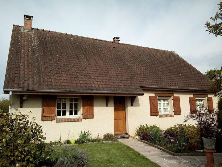Chambre spacieuse à la campagne proche de Rouen