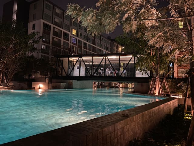 D Condo Ping for Daily/Monthly Stay in Chiang Mai