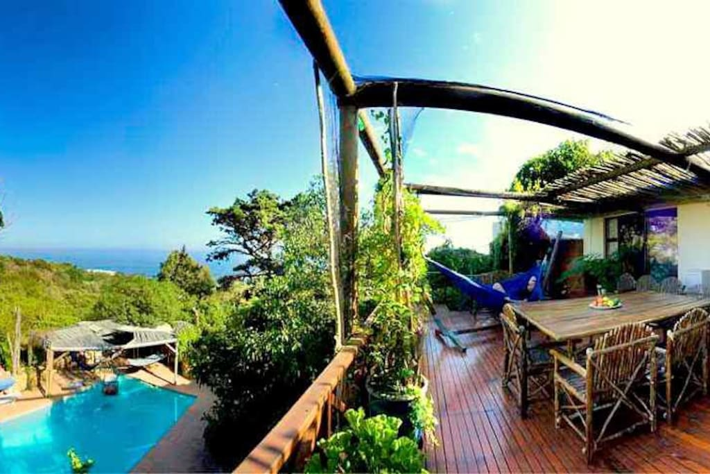 THE MAIN HOUSE - Studio A - awesome views to sea and nature reserve and gets insanely breathtaking  sunsets