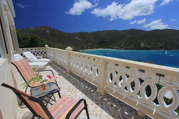 Ocean View Villa, on Jost Van Dyke - Tortola - House