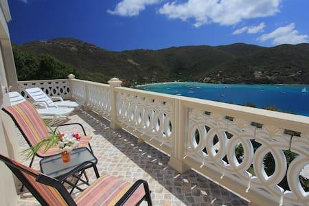 Ocean View Villa, on Jost Van Dyke - Tortola - Casa