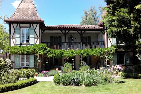 two rooms in house of charm - Labastide-d'Armagnac - Penzion (B&B)