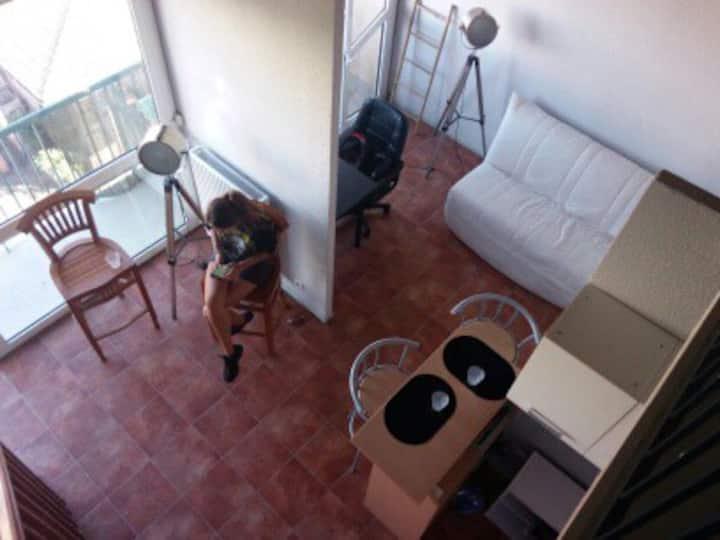 Petit loft duplex proche Toulouse centre