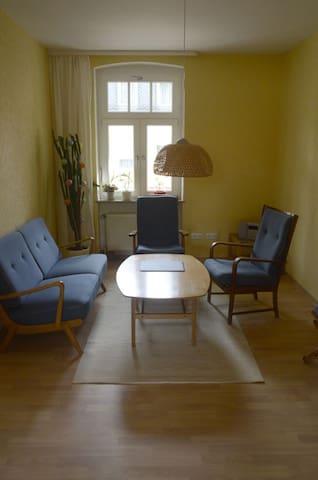 Ruhige 2-Raum-Wohnung erwartet unsere Gäste - Merseburg (Saale) - Appartement