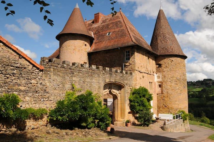 Château de Barnay - South Burgundy - Saint Martin de Lixy