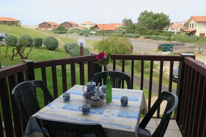 T2 mezzanine - résidence avec piscine Vieux Boucau