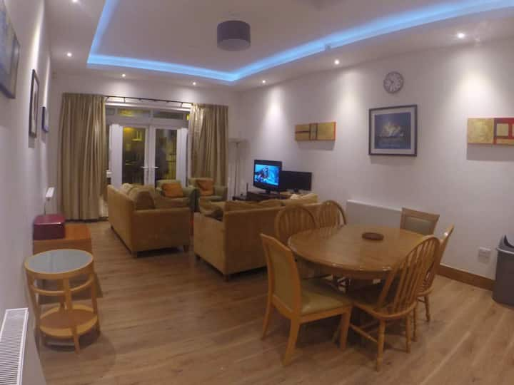 House newely finished in city centre.