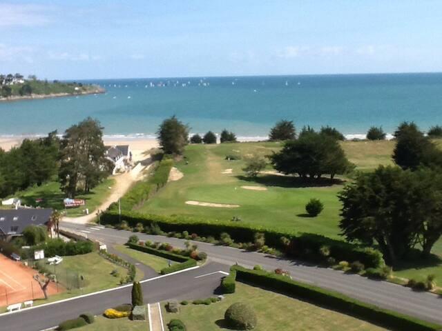 T3 vue mer sublime, face à la plage - Saint-Cast-le-Guildo - Apartment