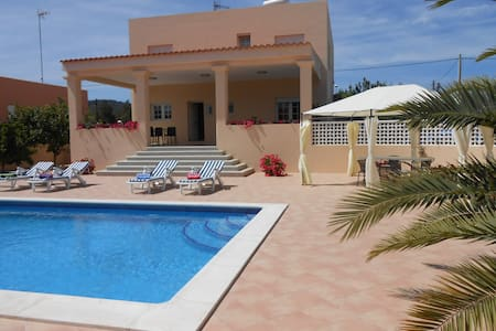 Private room in Ibiza with pool (1  - Sant Josep de sa Talaia - Huvila