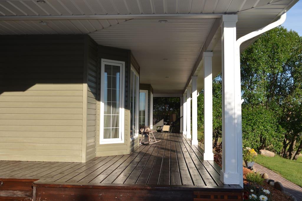 Front Deck -