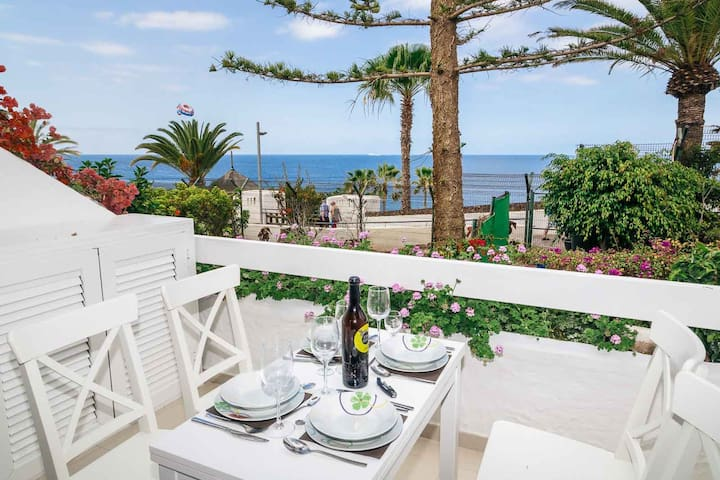 Perfect studio in hotel, sea view - Costa Adeje