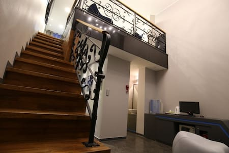 boutique hotel style-premium 2 level suite room - Banpo-myeon, Gongju - Byt