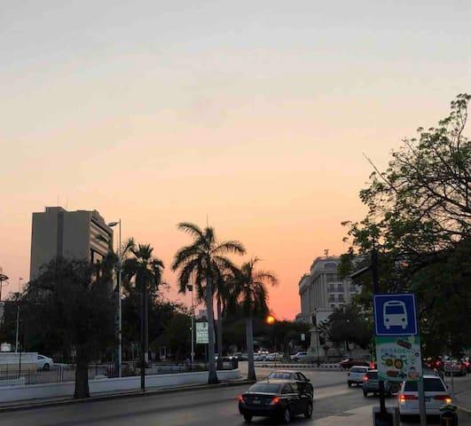 Located three blocks from Paseo de Montejo