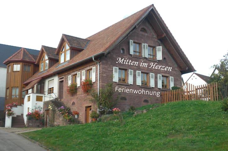 """Ferienwohnung """"Mitten im Herzen❤"""""""