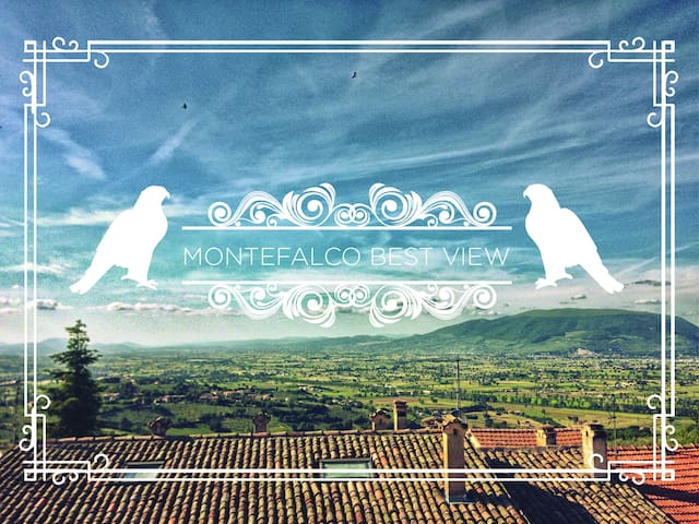 Best view of Umbria! flat in tipical brick house - Montefalco - Apartament