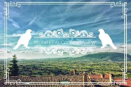 Best view of Umbria! flat in tipical brick house - Montefalco - Leilighet