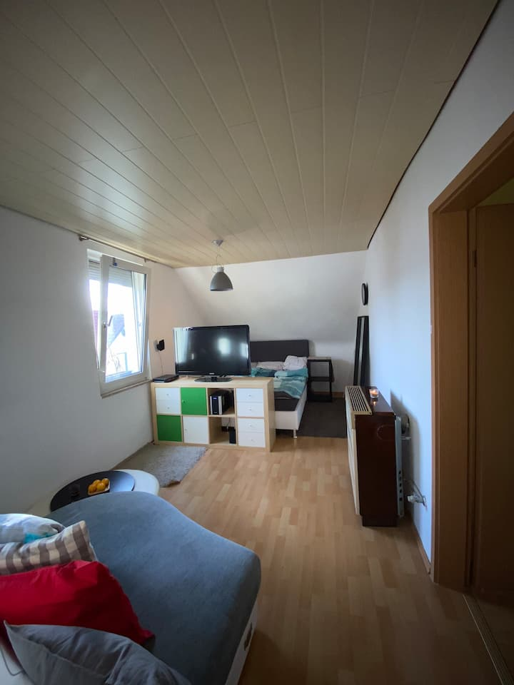 Kleine Wohnung mit gutem ÖPNV