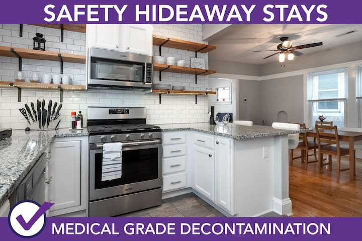 ]Safety Hideaway - Medical Grade Clean Home 110