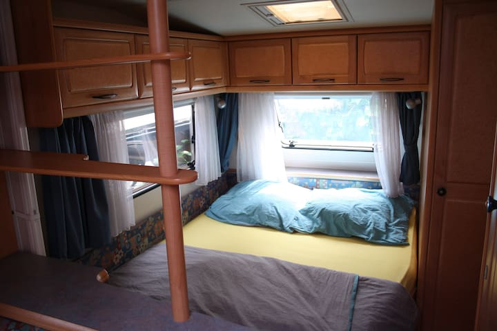 Cosy trailer, perfect for couples / small families