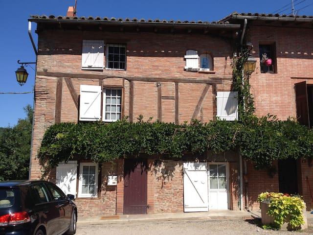 chambres dans maison de village - Buzet-sur-Tarn - Hus