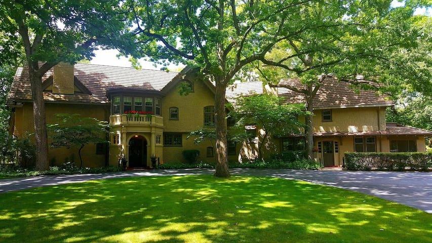 Beautiful Historic Tudor Mansion, Lake Frontage