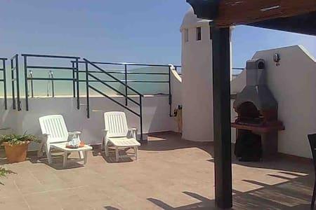 atico con piscina privada y barbacoa - Vera - Apartment