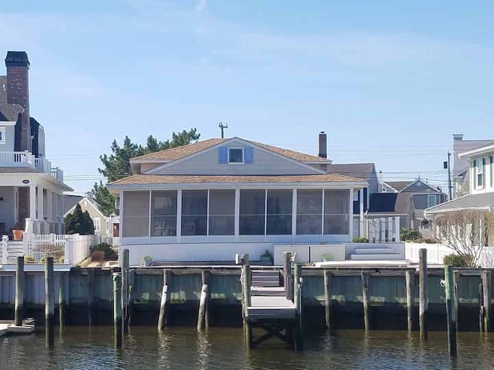 Ocean Ciy, NJ  Lagoon Front, Single Family House