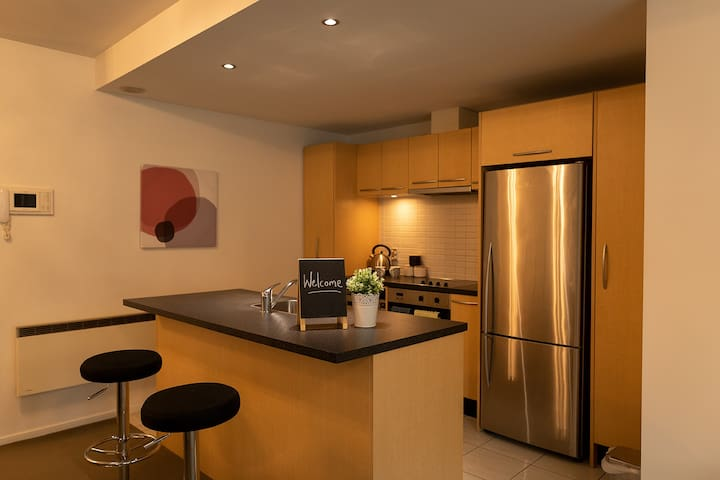 Full featured kitchen with all mdern appliances