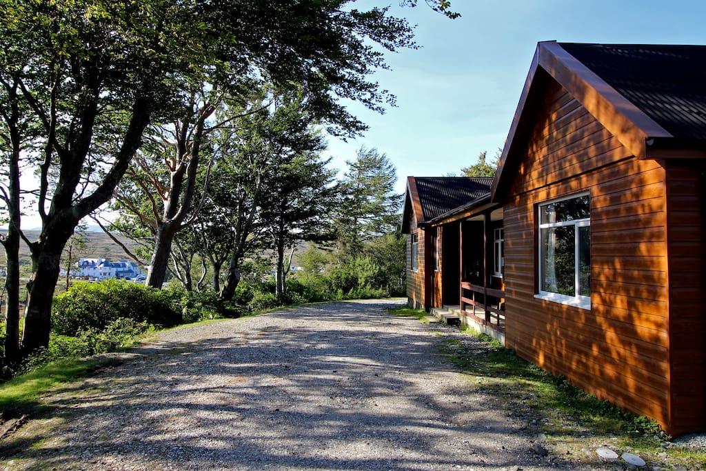 The bunkhouse exterior