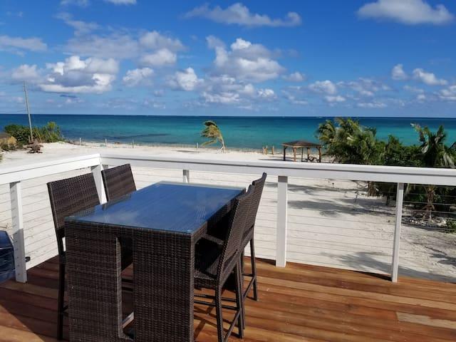 Beachfront villa, 3BD second floor w/Private Pool