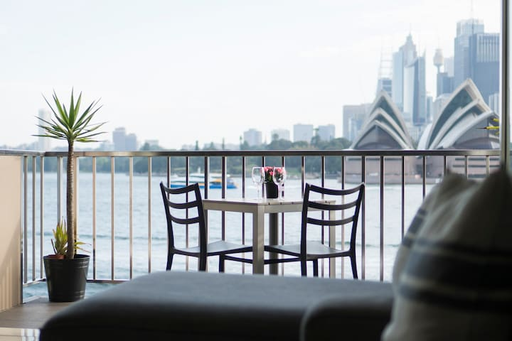 A great spot to sit and enjoy the wonderful views of Sydney