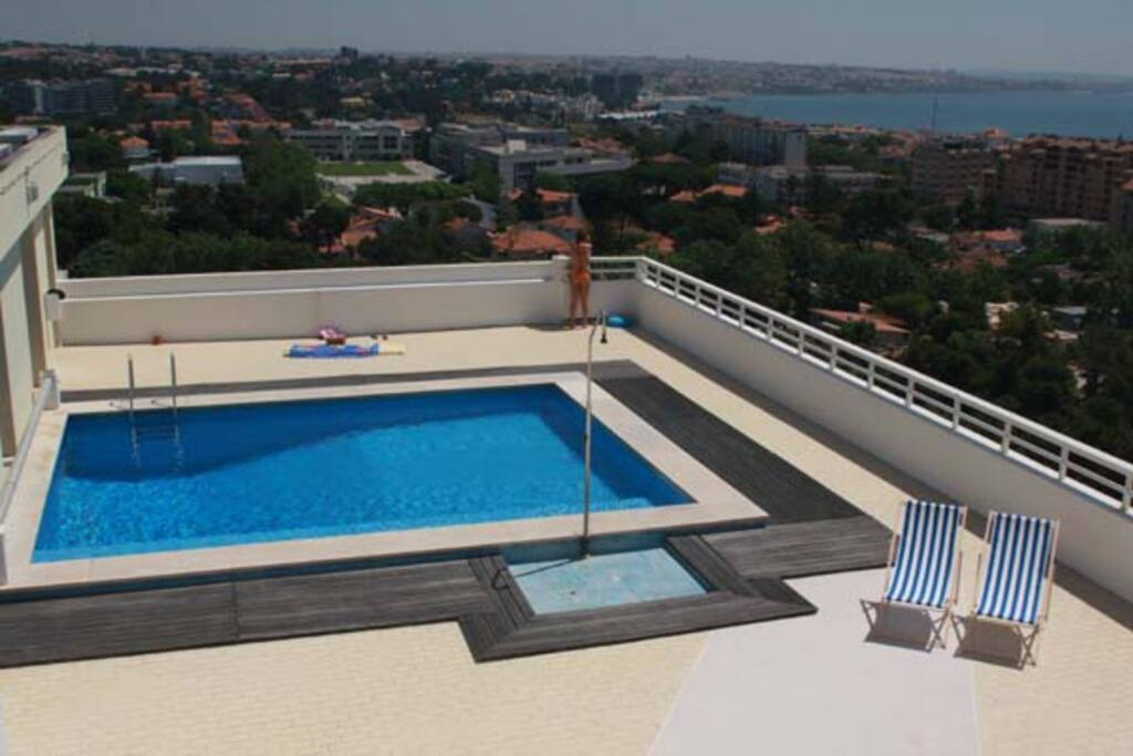 View Pool And Confort Apartments For Rent In Cascais