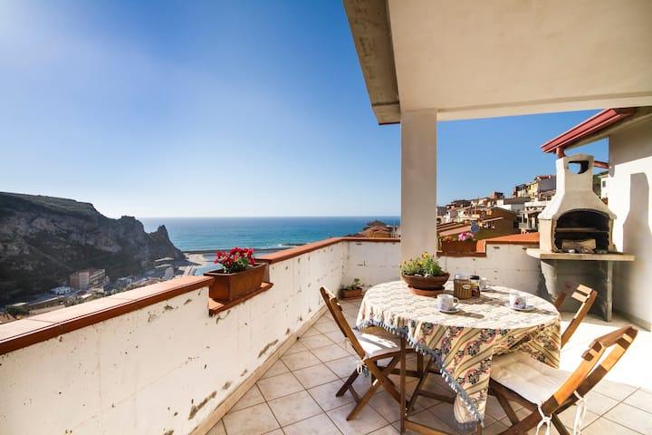 Sea view apartment Buggerru