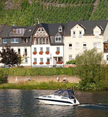 Zell on Mosel River, Rhineland