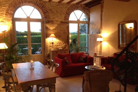 Lovely duplex in the Beaujolais - Apartment