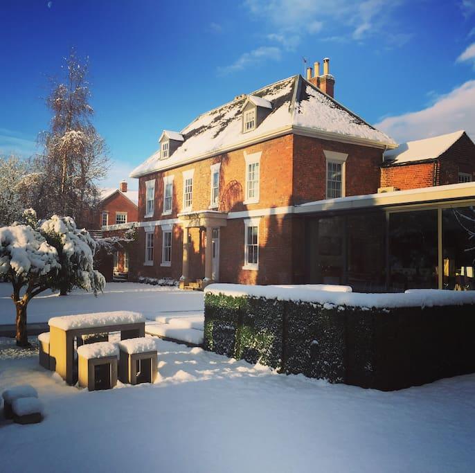 A beautiful Winter escape.