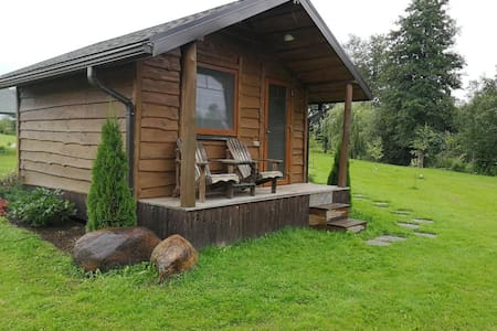 Iecupes wooden cabin