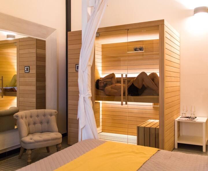 Suite con sauna privata